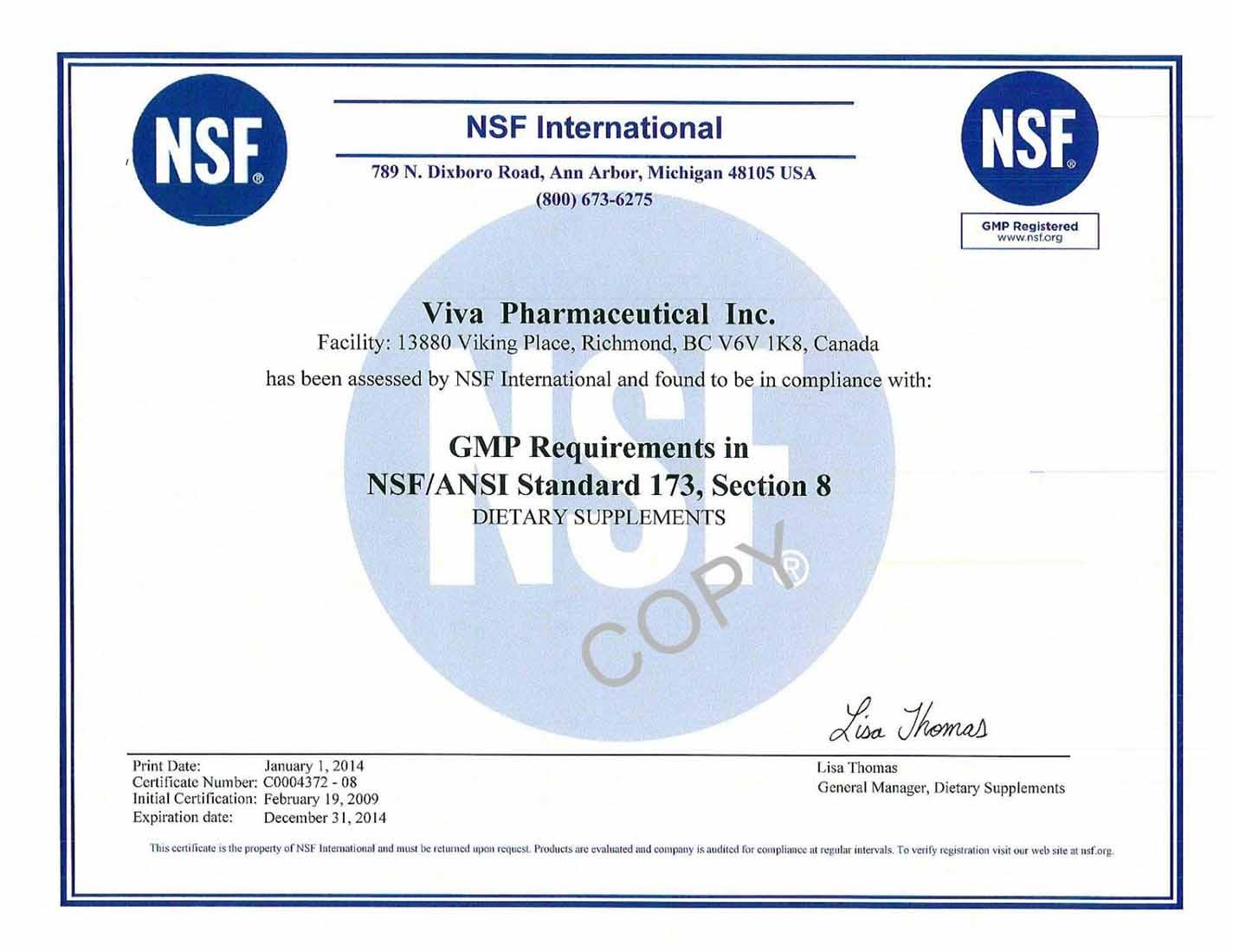 Chứng nhận GMP - tổ chức y tế thế giới WHO